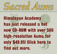Click here to find out about our Sacred Aums CD-ROM!