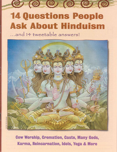 Fourteen Questions People Ask About Hinduism (carton of 400)