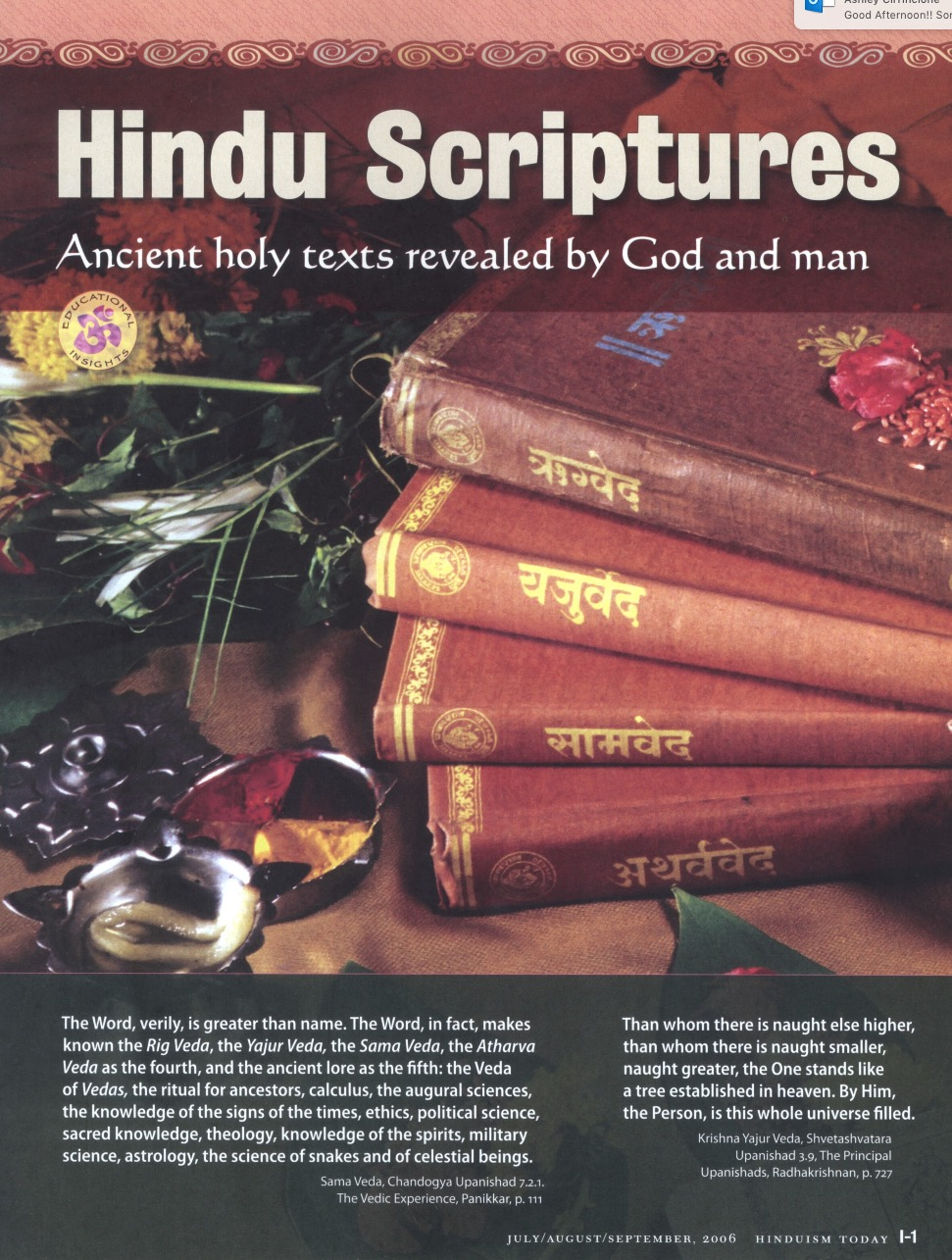 Hindu Scriptures (Carton of 300)
