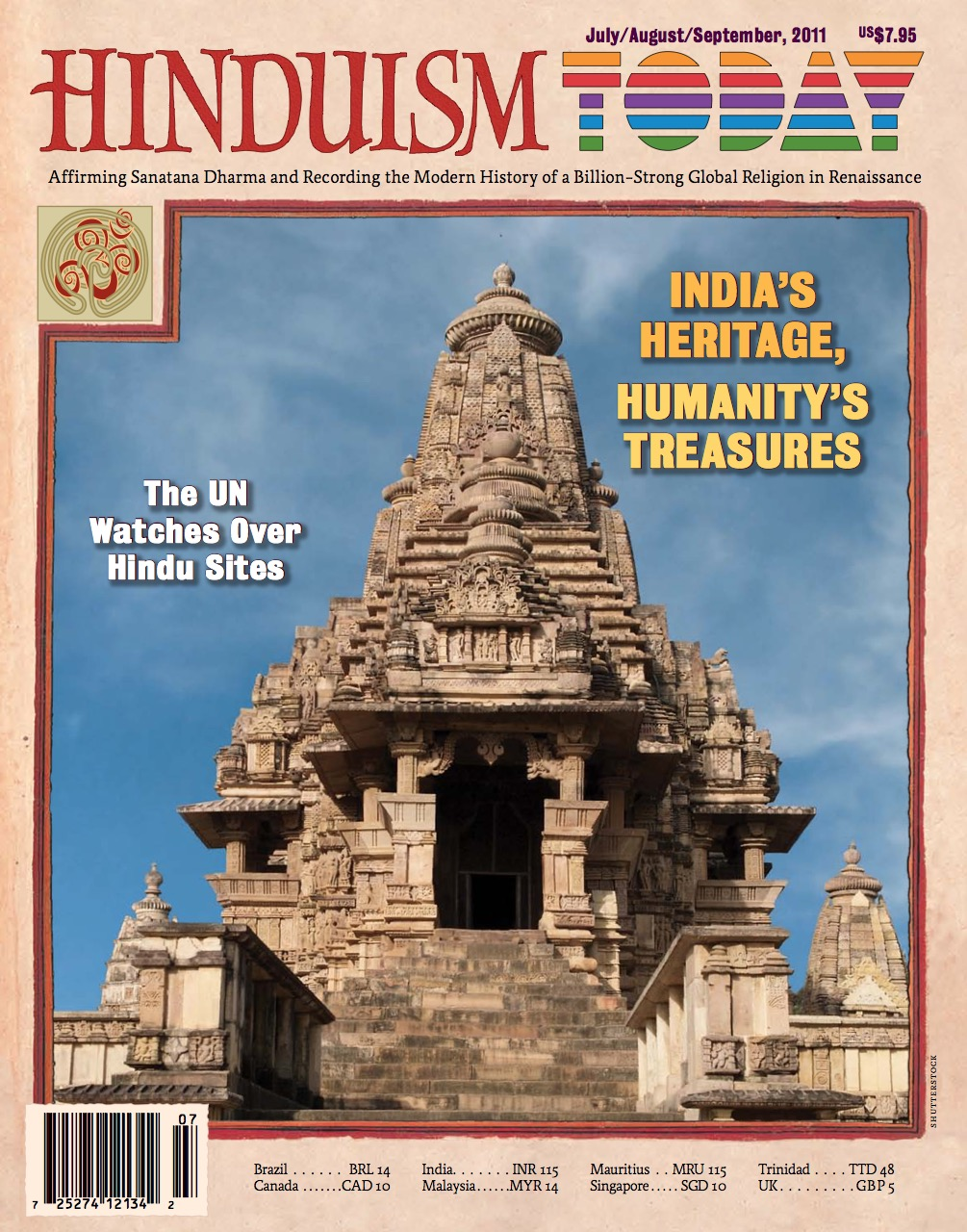 Hinduism Today Jul/Aug/Sep 2011
