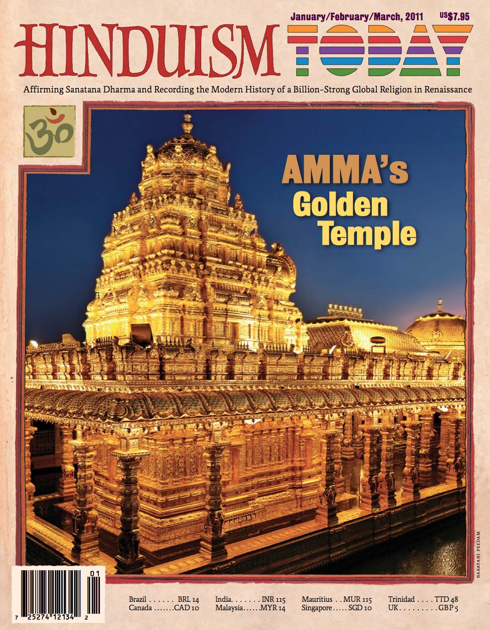 Hinduism Today Jan/Feb/Mar 2011