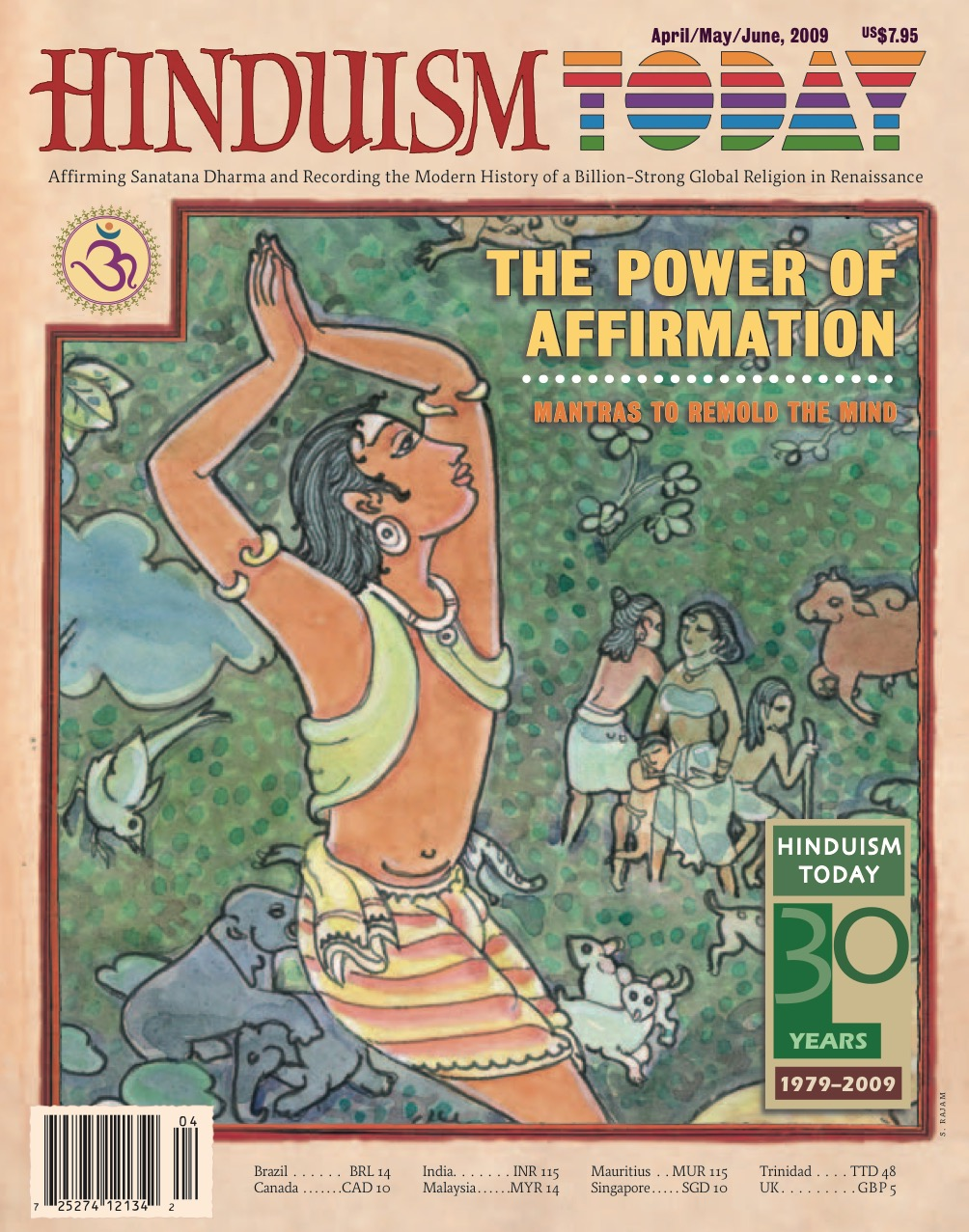 Hinduism Today Apr/May/Jun 2009