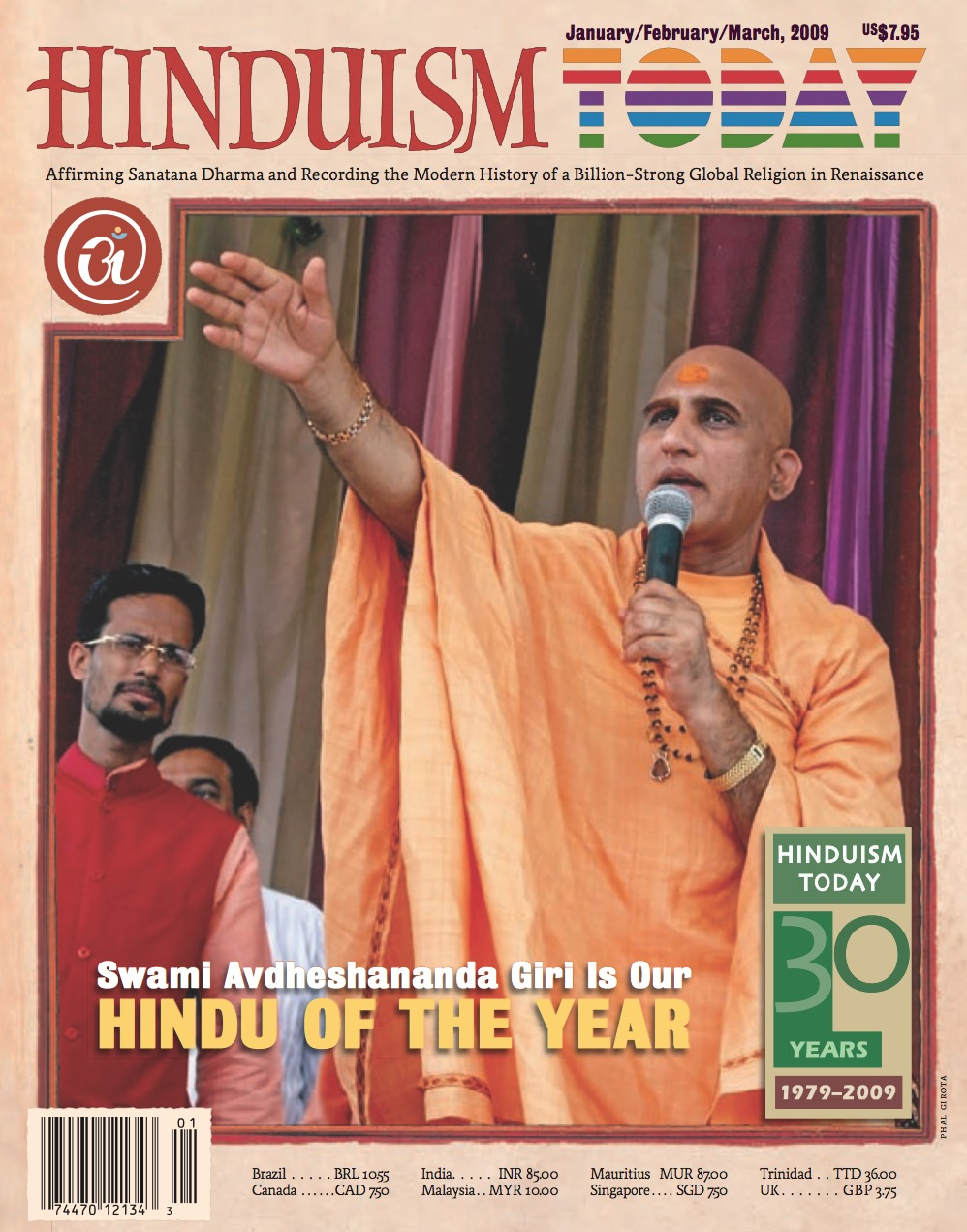 Hinduism Today Jan/Feb/Mar 2009