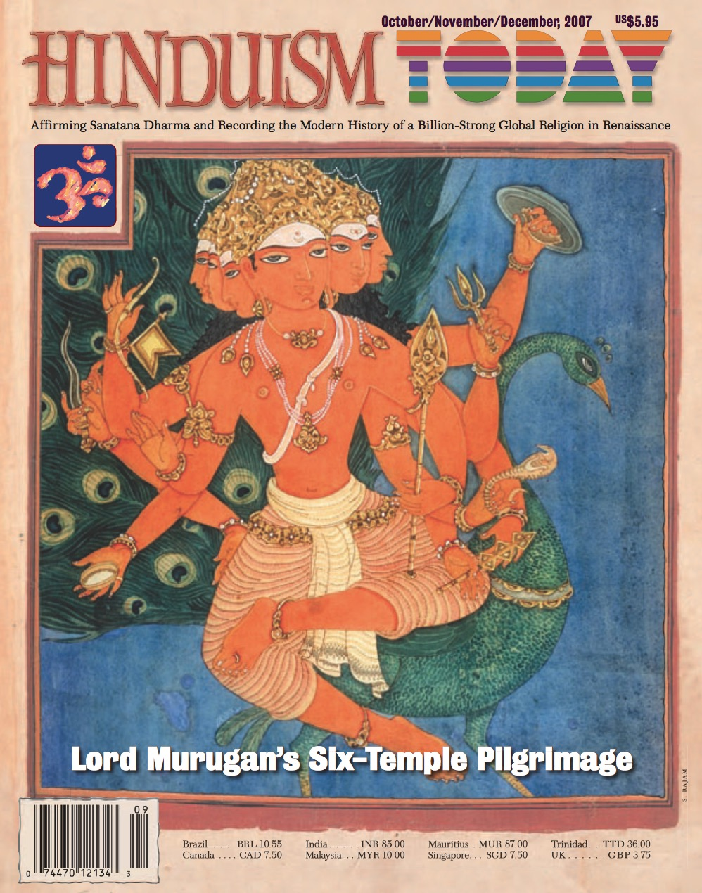 Hinduism Today Oct/Nov/Dec 2007