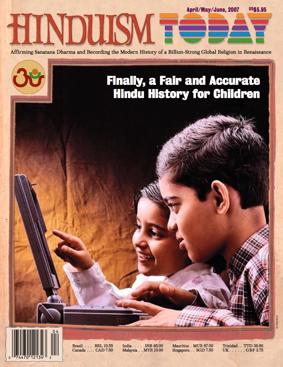 Hinduism Today Apr/May/June 2007