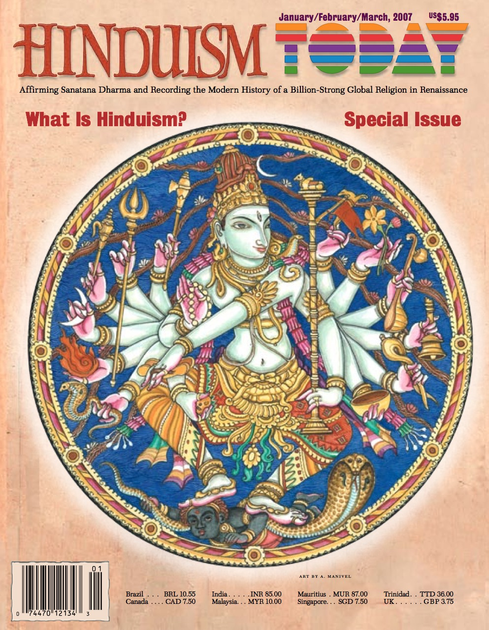 Hinduism Today Jan/Feb/Mar 2007