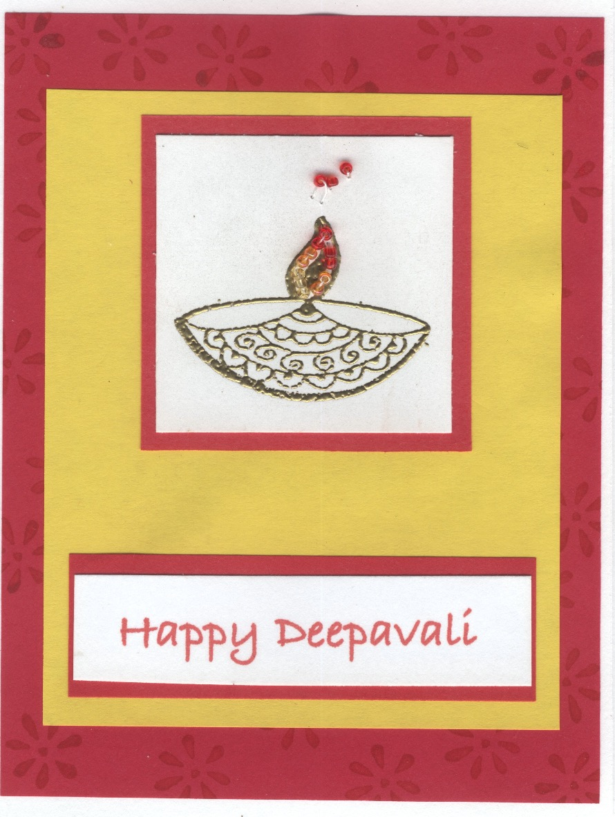 Deepavali Greeting Card