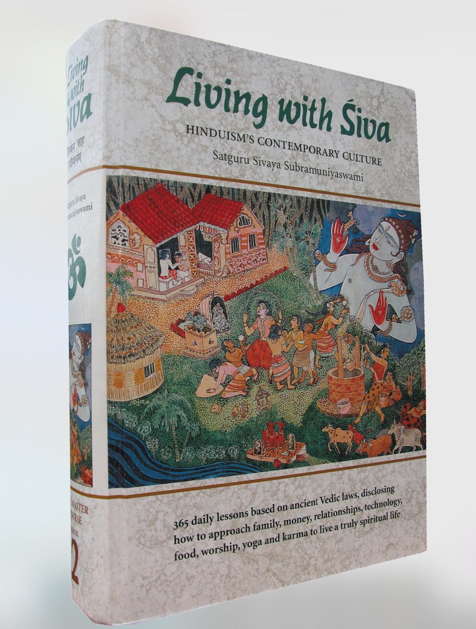 Living with Siva (hardcover) 2nd Ed.