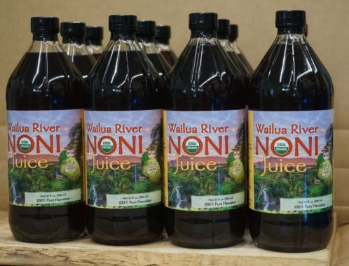 Noni Juice - Case of 12 quart bottles - eBay Only
