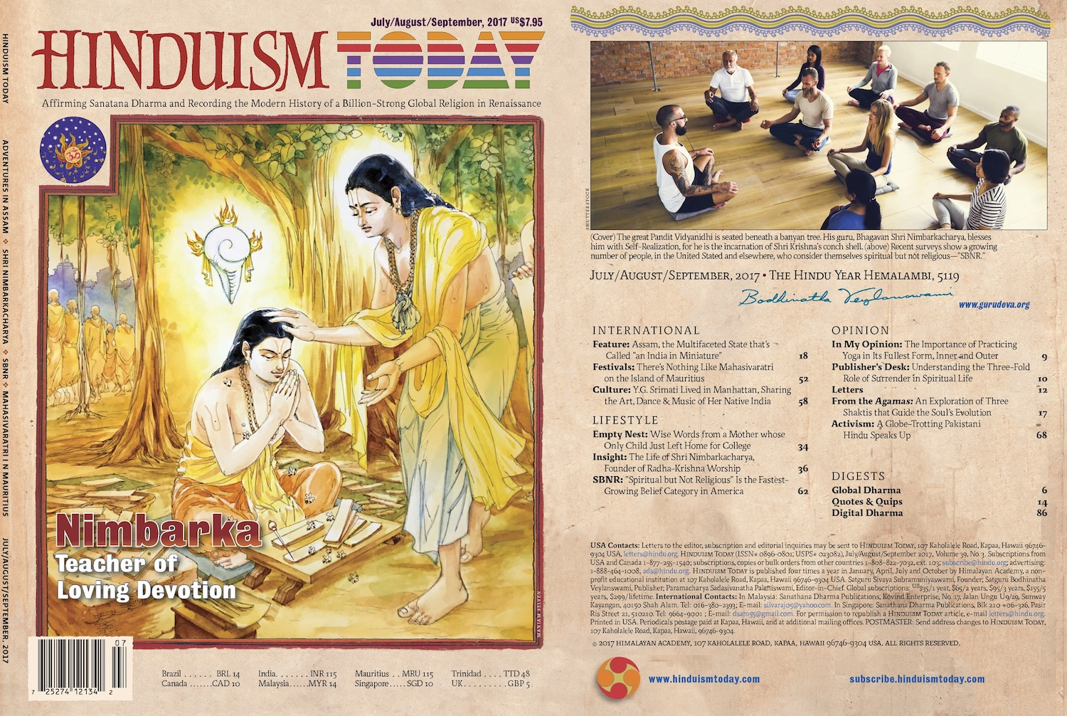 Hinduism Today Jul-Aug-Sep 2017