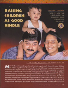 Raising Children as Good Hindus