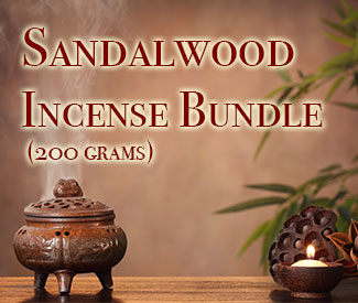 Sandalwood Incense Bundle